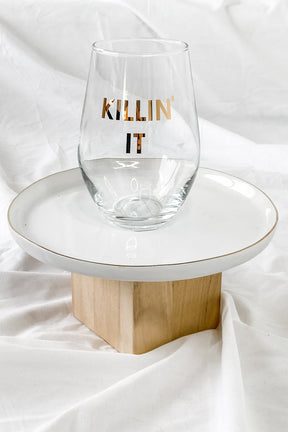 Killin' It Wine Glass