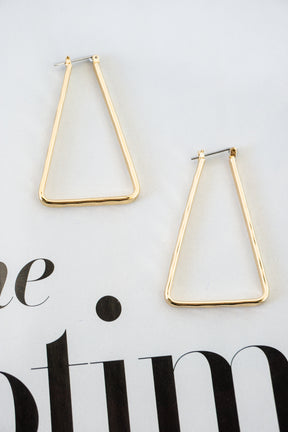 Eiffel Tower Earrings in Gold