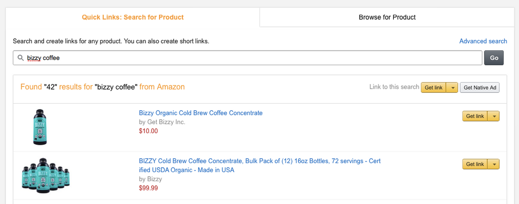 Amazon Associates Program - Search Box