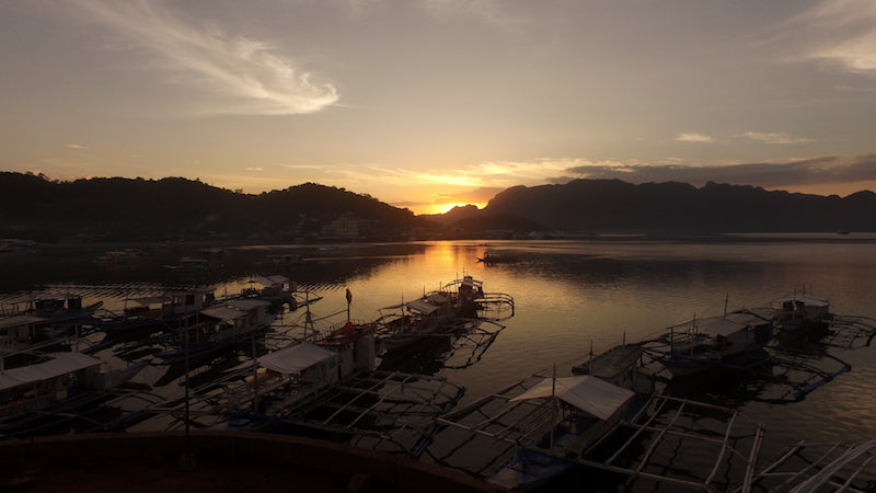 Coron Sunrise