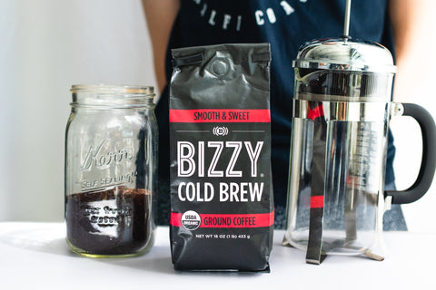 How to make cold brew coffee: french press