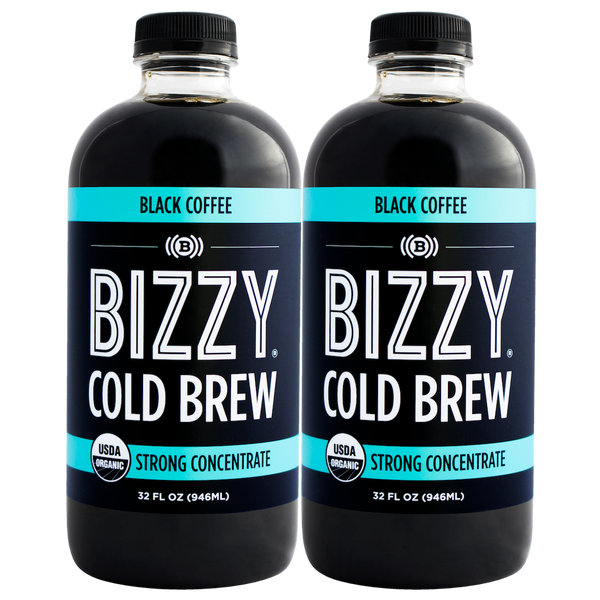 Bizzy Organic Cold Brew Coffee Concentrate (2-pack)