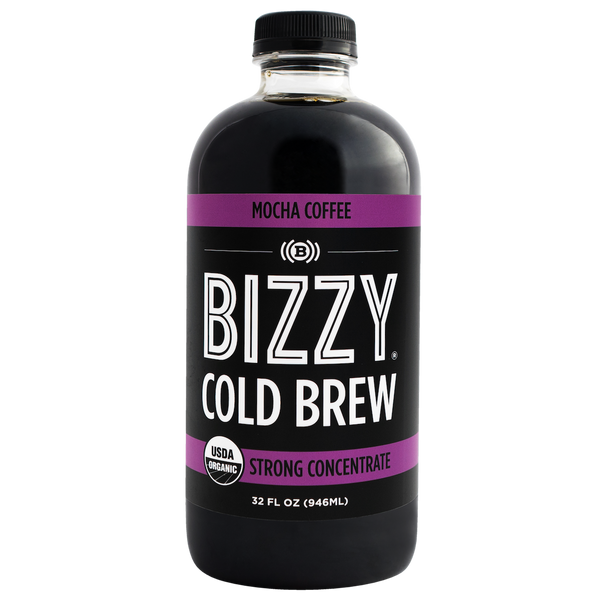 Bizzy Organic Mocha Cold Brew Coffee Concentrate (1-pack)