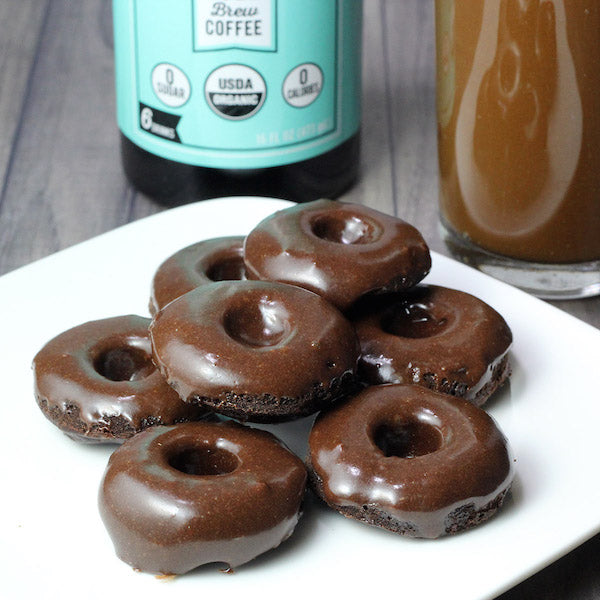 Iced Mocha Protein Donuts