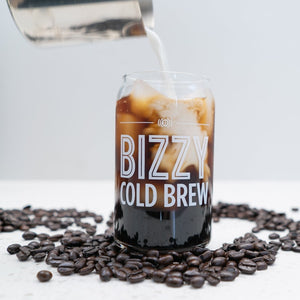 Bizzy 16oz Can Glass