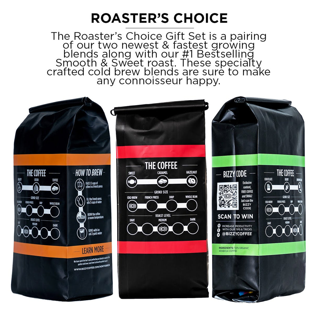Roaster's Choice | Variety 3-Pack  | 3lbs Coarse Ground Coffee