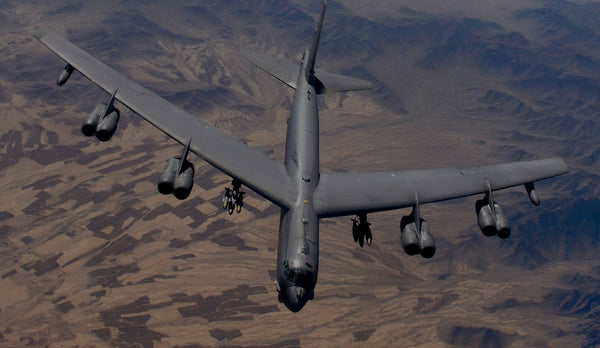 B-52 in service over Afghanistan