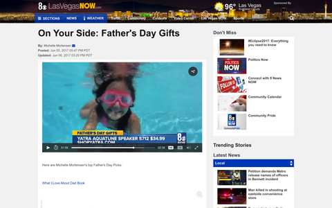 Las Vegas NOW - Father's Day: On Your Side - Yatra