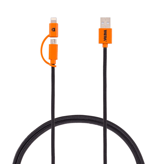 Yatra 2-in-1 MFI Cable