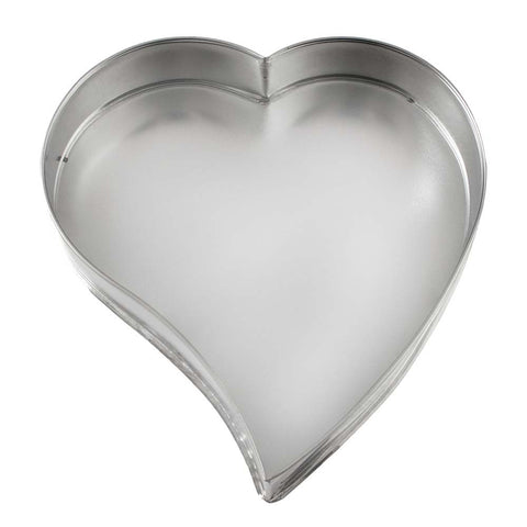 Curved Asymmetric Heart Cake Tin