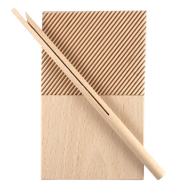 Garganelli Double Surface Board With Easy Release Rolling Stick