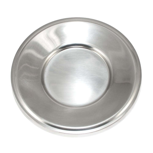 Stainless Steel Italian Gelato / Ice Cream Saucer