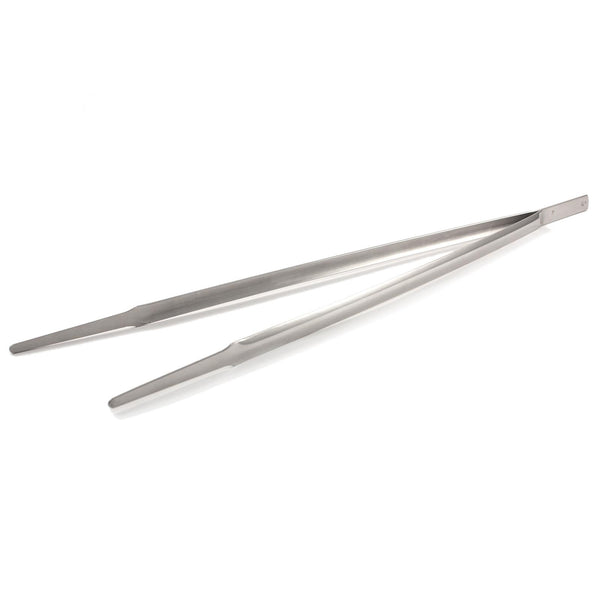 Stainless Steel Narrow Pincer Long Barbecue Tongs 45cm