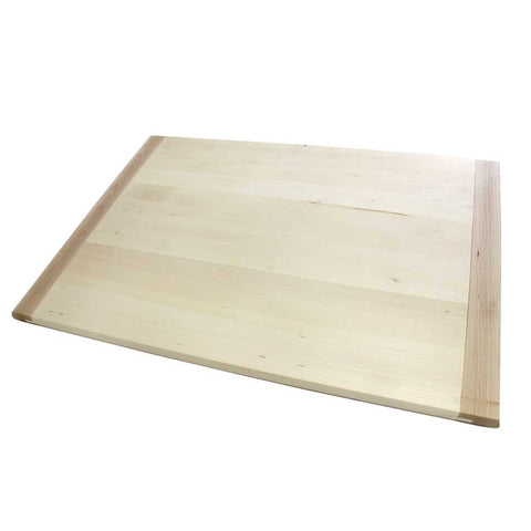Lime Wood Pastry Board With Lip