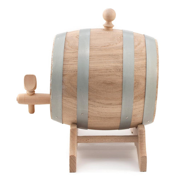 Oak Barrel for Maturing Wine With Stand