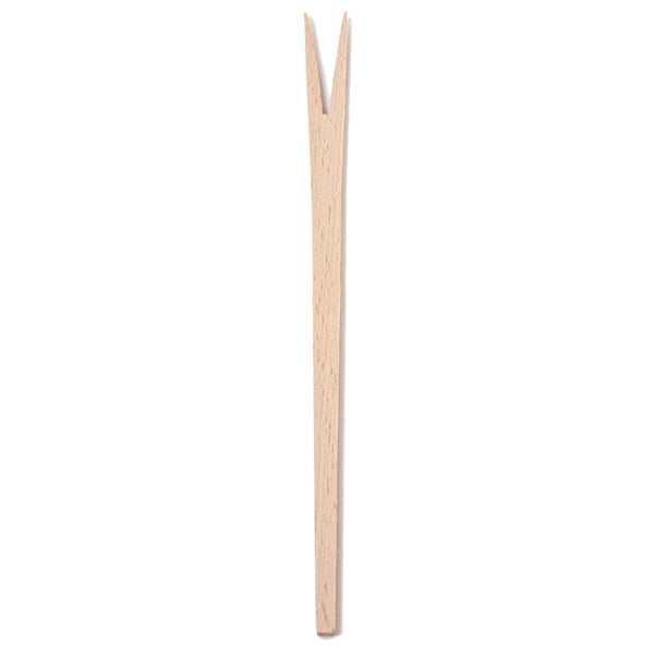Wooden Two Pronged Fork 27cm