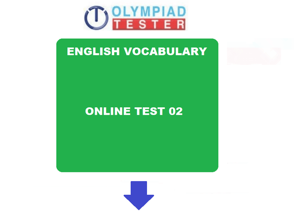 Class 6 English Vocabulary online practice test