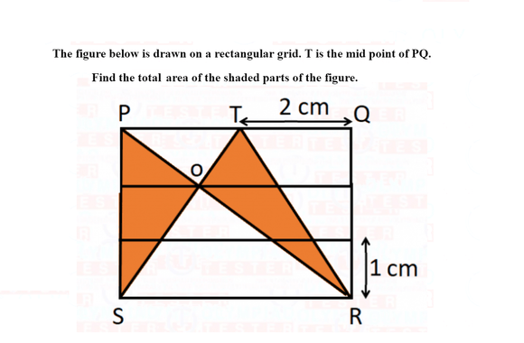 Class 6 Maths Olympiad questions on Mensuration