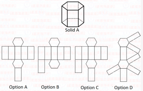 Class 6 Maths Olympiad Sample paper - Elementary Shapes 01