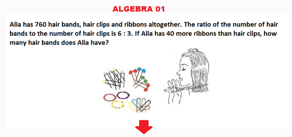 Class 6 Maths Olympiad Sample papers - Algebra