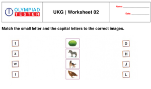UKG free printable practice worksheet - 02