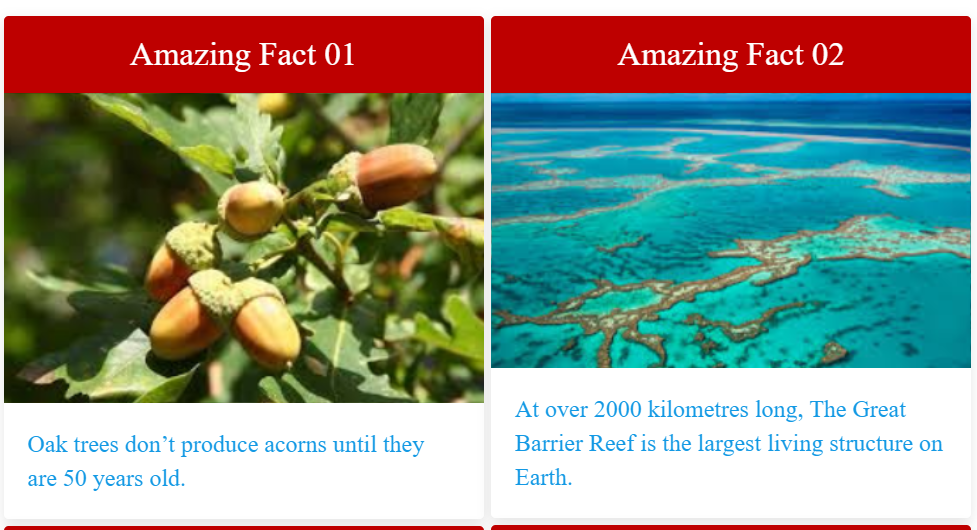 Amazing facts about plants