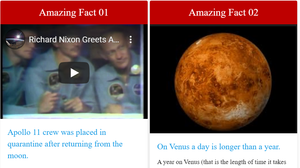 Amazing facts about space