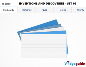G.K Olympiad questions - Inventions and discoveries Set 02