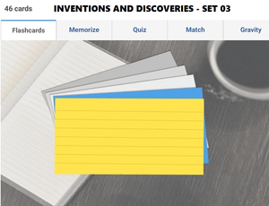 G.K Olympiad preparation - Inventions and discoveries Set 03
