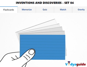 G.K Olympiad guide - Inventions and discoveries Set 04