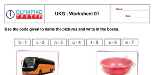 UKG free printable practice worksheet - 01