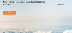 Non Verbal Reasoning Online test on Analytic Reasoning