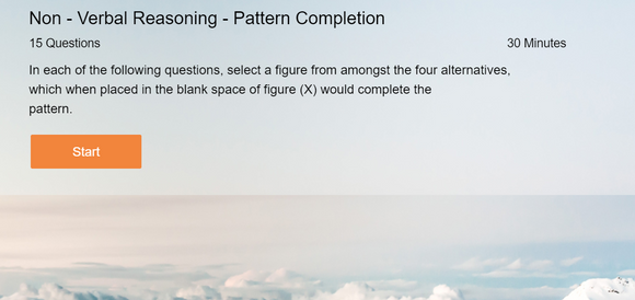 Non-Verbal Reasoning - Online tests on Pattern Completion