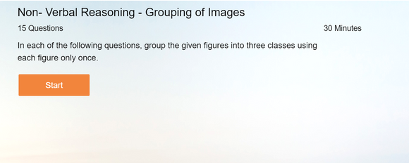 Non-Verbal Reasoning - Online tests on Grouping of images