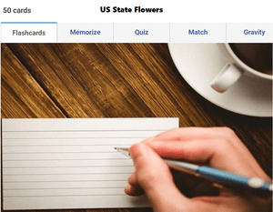 Online Static G.K preparation guide - State flowers of USA