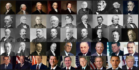 Complete List of U.S Presidents with their tenures - Vidyaguide