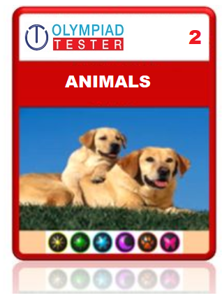 OLYMPIADTESTER CERTIFIED STUDENT EXAM (OCS) - CLASS 2 SCIENCE - ANIMALS - Olympiadtester