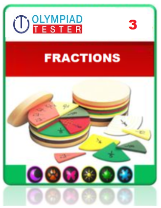 Class 3 Maths Fractions questions - 15 Online tests - Olympiad