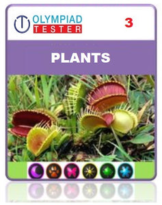 OLYMPIADTESTER CERTIFIED STUDENT EXAM (OCS) - CLASS 3 SCIENCE - PLANTS - Olympiadtester