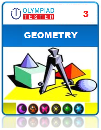 Class 3 Maths Geometry questions - 12 Online tests - Olympiad
