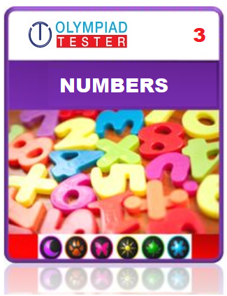 Class 3 Maths Numbers questions - 12 Online tests - Olympiad