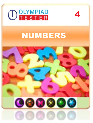 GOTAK & OCS Certification - Class 4 Maths Numbers - Olympiadtester