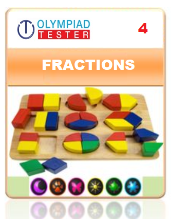 GOTAK & OCS Certification - Class 4 Maths Fractions - Olympiadtester