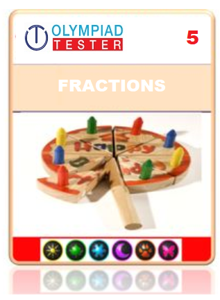 Class 5 Maths Fractions and decimals - 20 Online tests - Olympiad