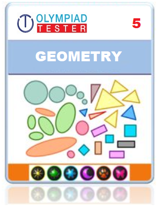 Class 5 Maths Geometry questions - 10 Online tests - Olympiad