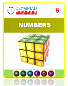 Class 5 Maths Numbers questions - 12 Online tests - Olympiad
