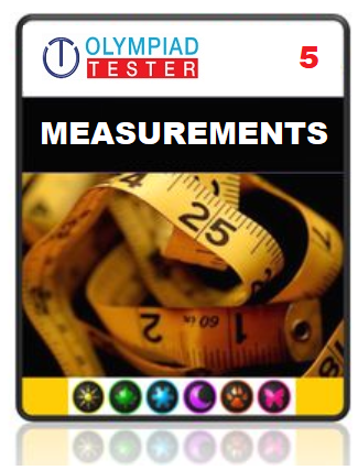 Class 5 Maths Measurements questions - 08 Online tests - Olympiadtester