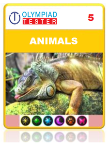 OLYMPIADTESTER CERTIFIED STUDENT EXAM (OCS) - CLASS 5 SCIENCE - ANIMALS - Olympiad