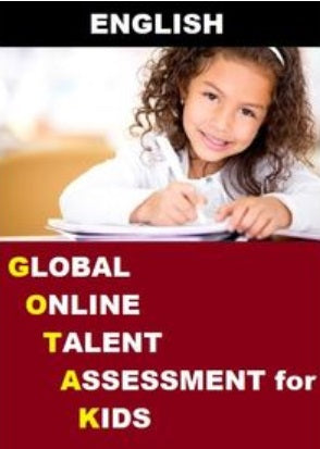 Class 1, Global Online Talent Assessment for Kids (GOTAK) - English - Olympiad