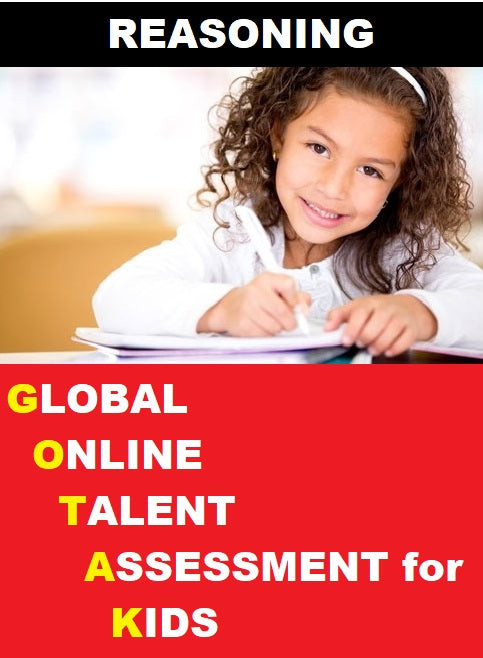 Class 1, Global Online Talent Assessment for Kids (GOTAK) - Reasoning - Olympiad